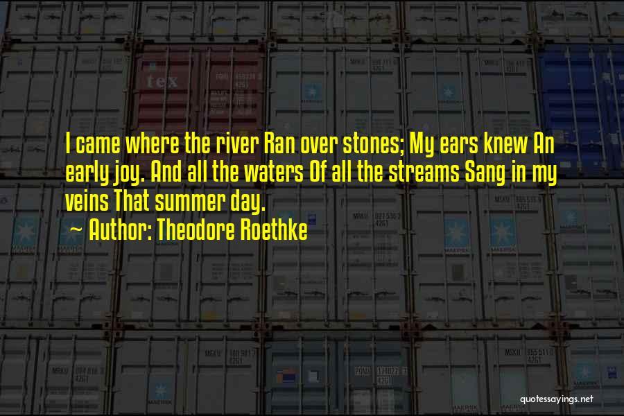 Theodore Roethke Quotes 2233969