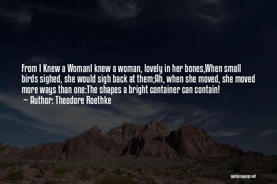 Theodore Roethke Quotes 255340