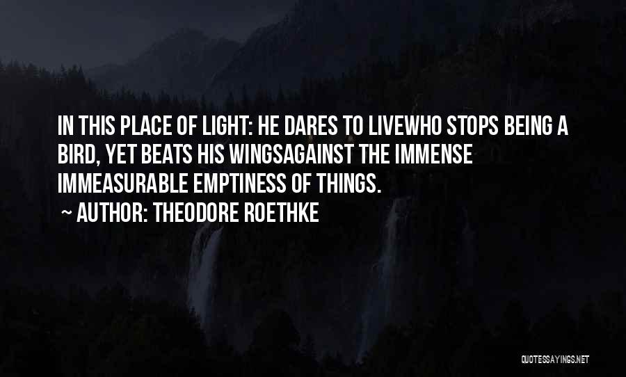Theodore Roethke Quotes 369080