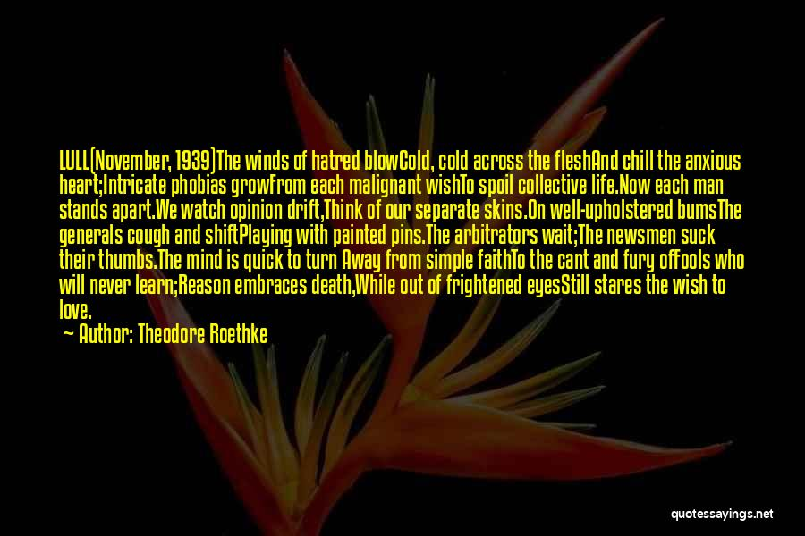 Theodore Roethke Quotes 674827