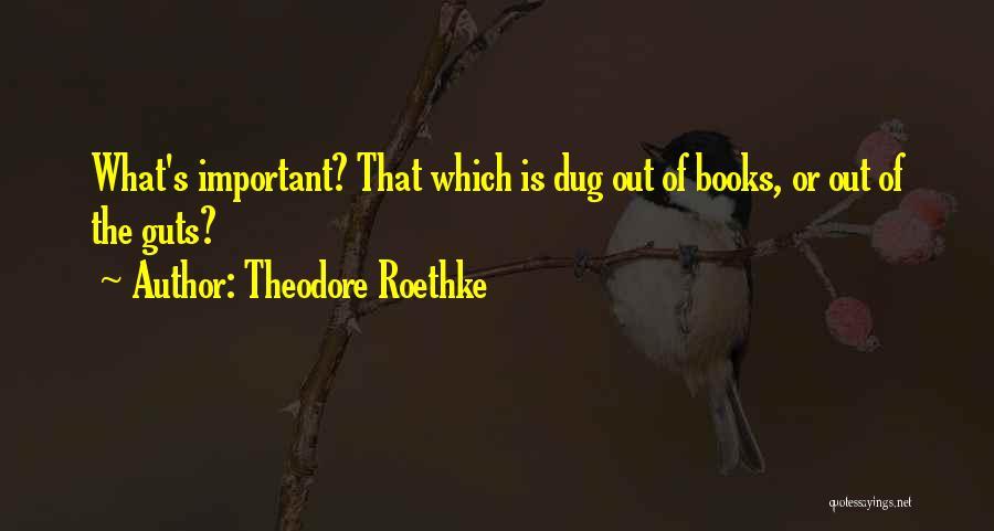 Theodore Roethke Quotes 721219