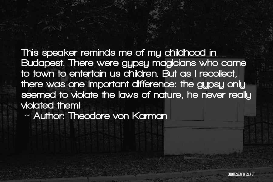 Theodore Von Karman Quotes 1569424