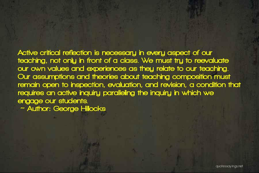 Theories And Practice Quotes By George Hillocks