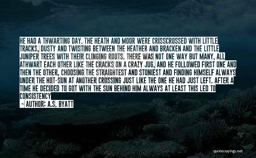 There Is Always A First Time Quotes By A.S. Byatt