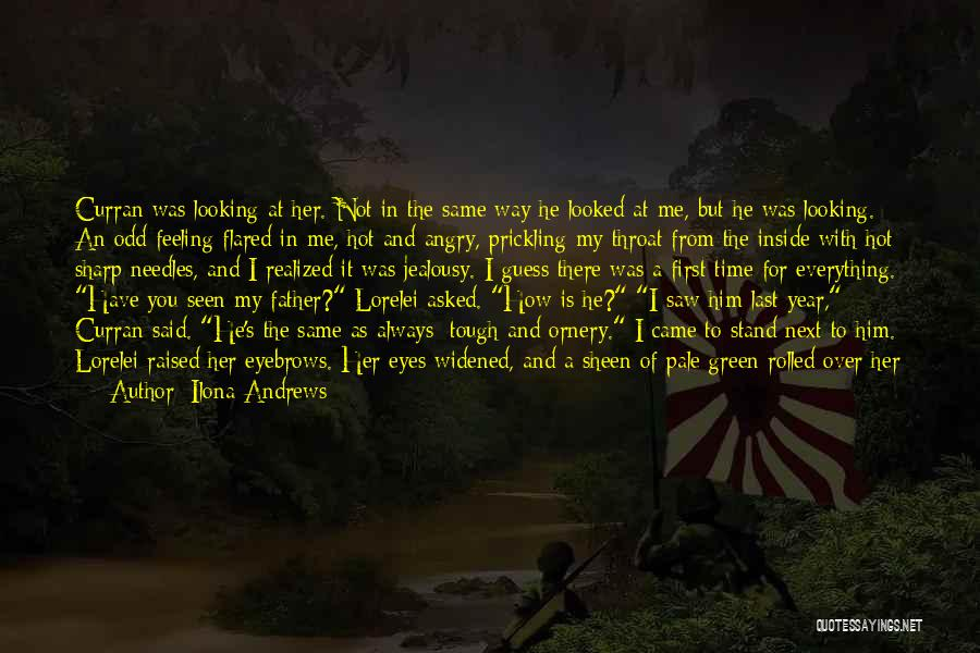 There Is Always A First Time Quotes By Ilona Andrews