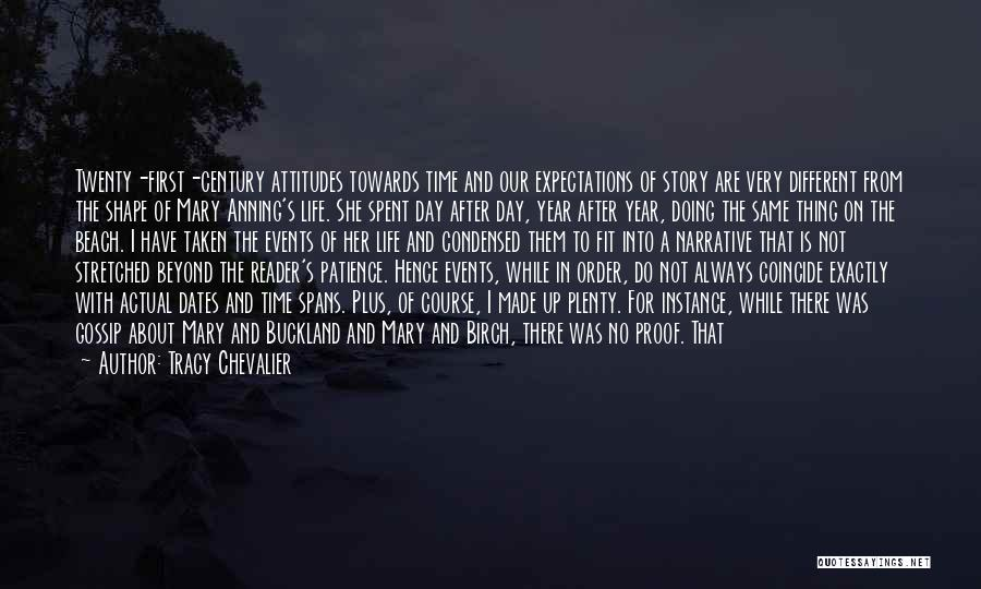 There Is Always A First Time Quotes By Tracy Chevalier