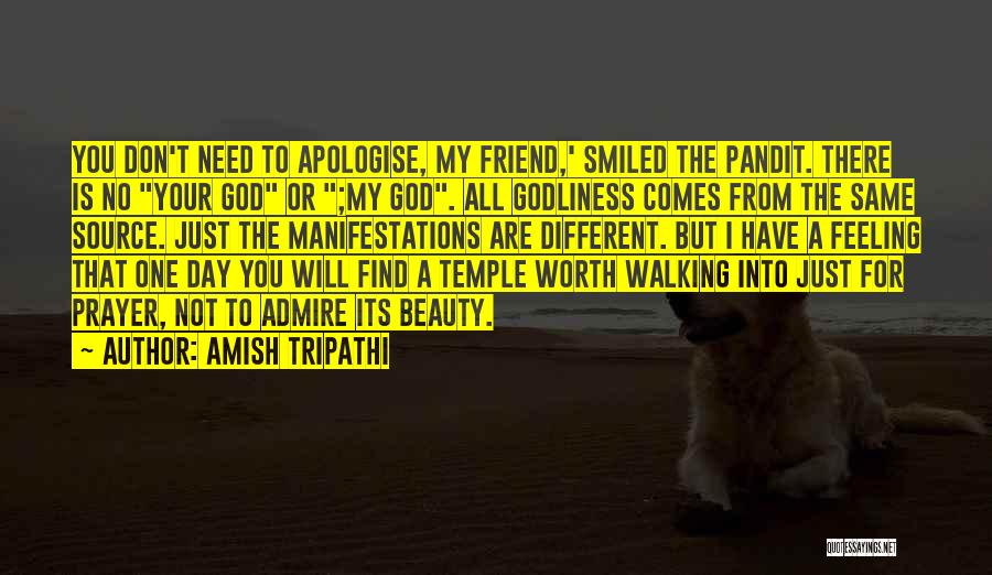 There Is No Friend Quotes By Amish Tripathi