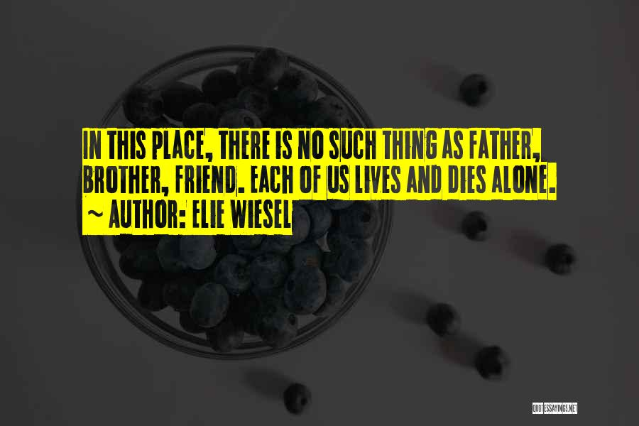 There Is No Friend Quotes By Elie Wiesel