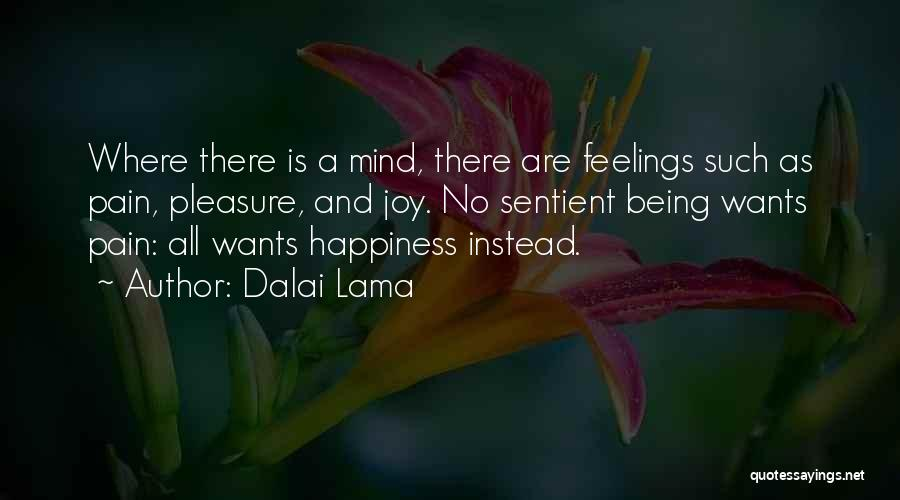 There Is No Happiness Quotes By Dalai Lama