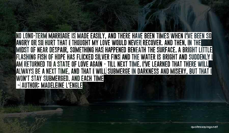 There Is No Next Time Quotes By Madeleine L'Engle