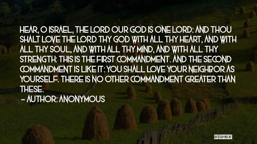 There Is No One Like God Quotes By Anonymous