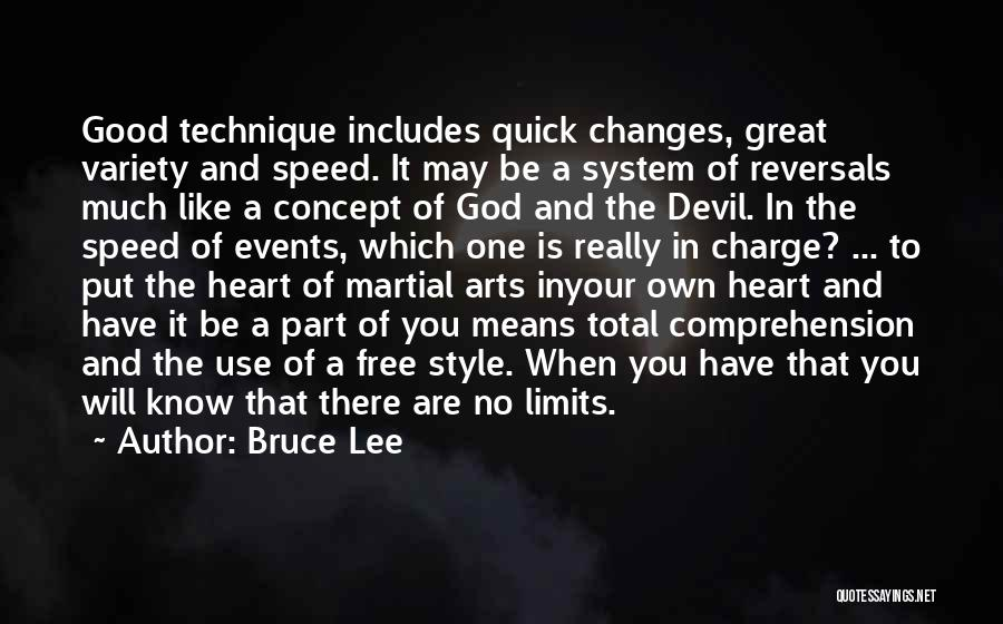 There Is No One Like God Quotes By Bruce Lee