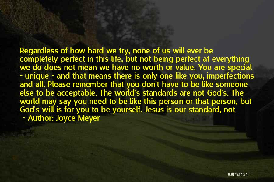 There Is No One Like God Quotes By Joyce Meyer