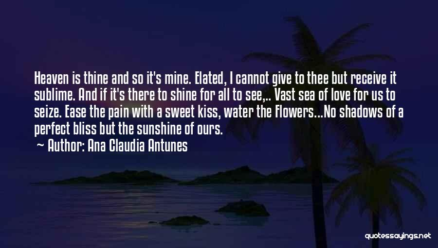 There Is No Perfect Love Quotes By Ana Claudia Antunes