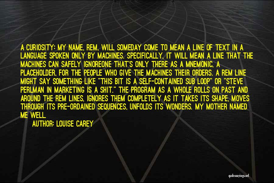 There Is Only One Mother Quotes By Louise Carey