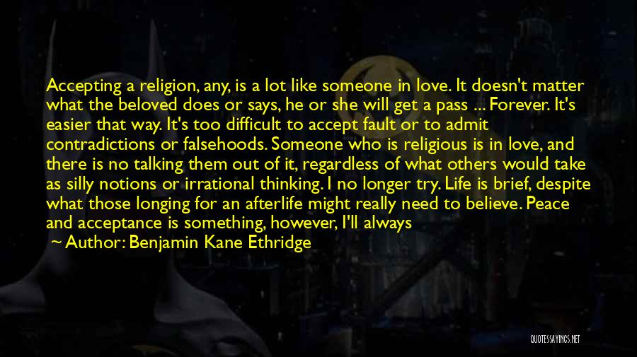 There Is Way Quotes By Benjamin Kane Ethridge