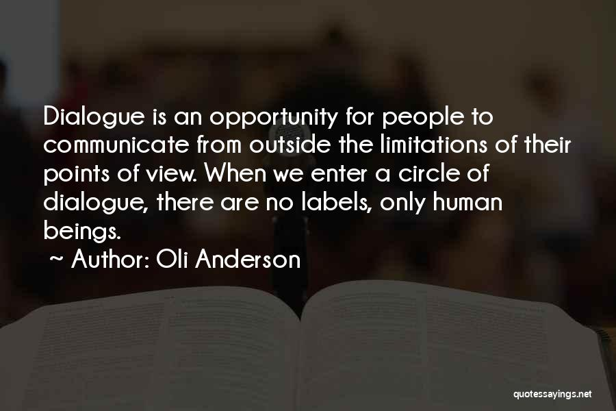 There No Limitations Quotes By Oli Anderson