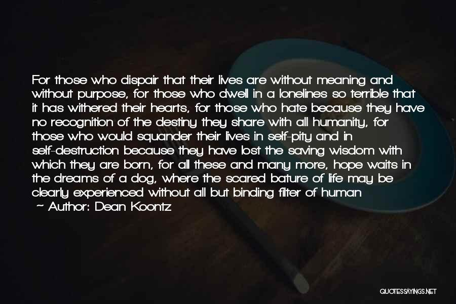 There She Is Quotes By Dean Koontz