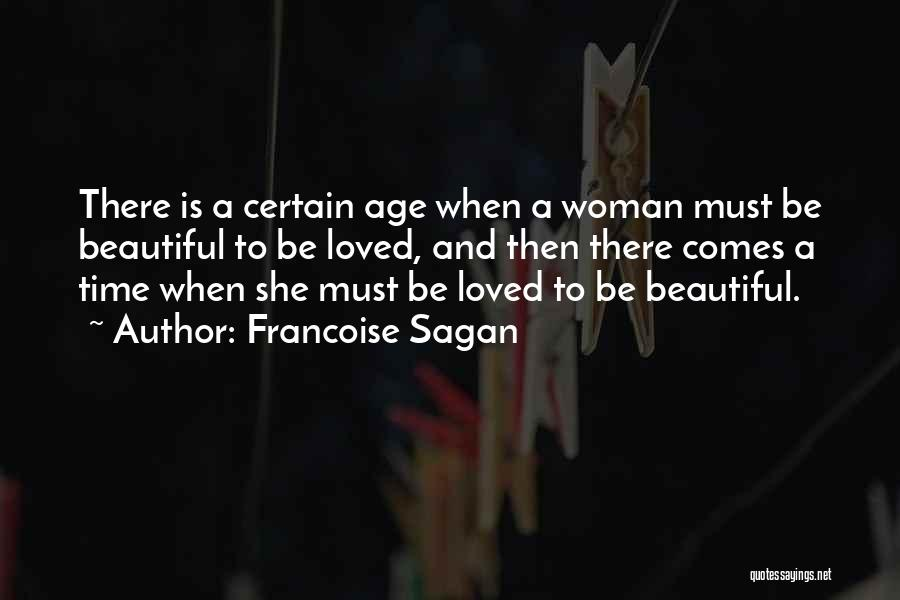 There She Is Quotes By Francoise Sagan