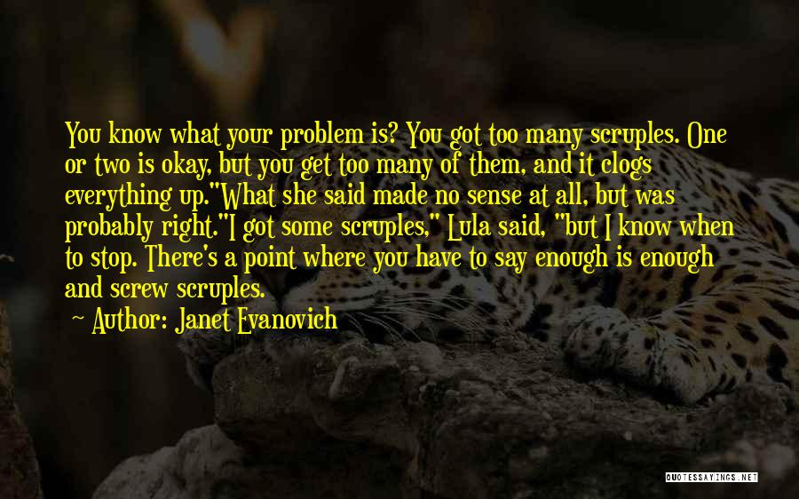 There She Is Quotes By Janet Evanovich