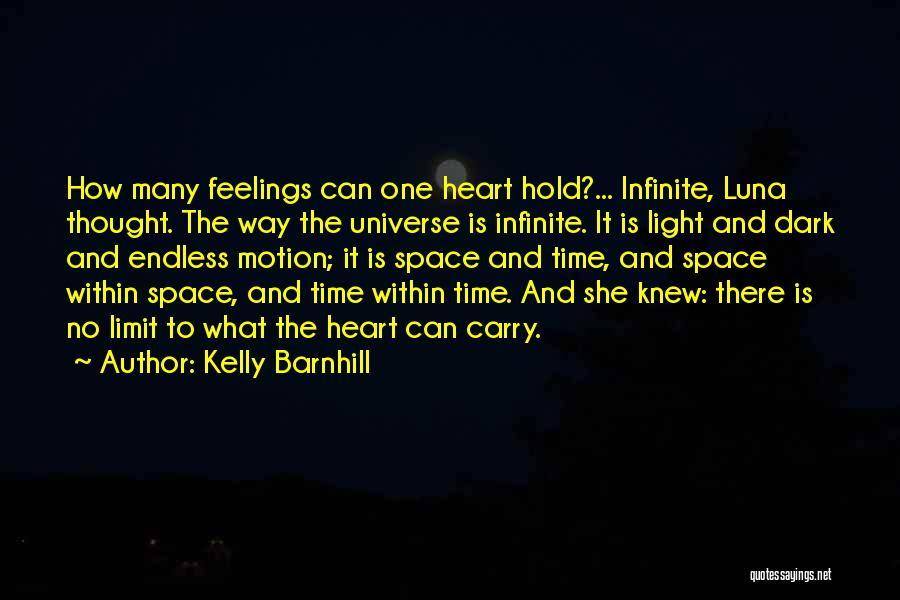 There She Is Quotes By Kelly Barnhill