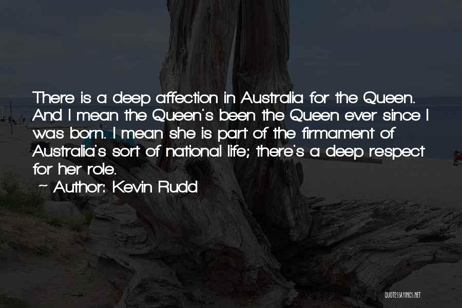 There She Is Quotes By Kevin Rudd