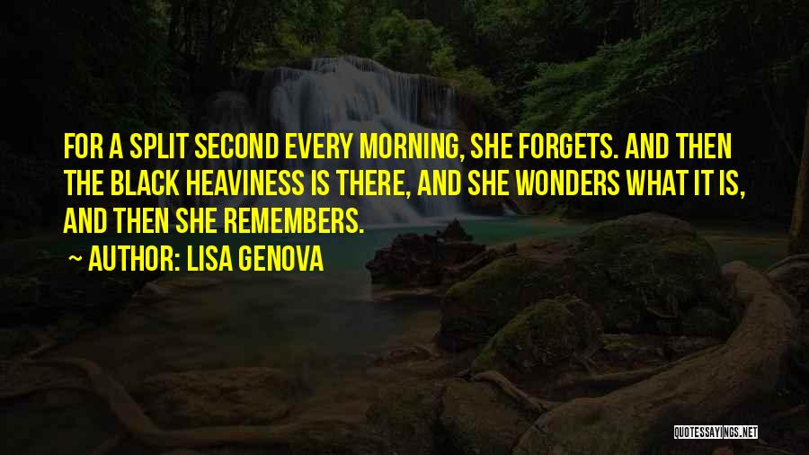 There She Is Quotes By Lisa Genova