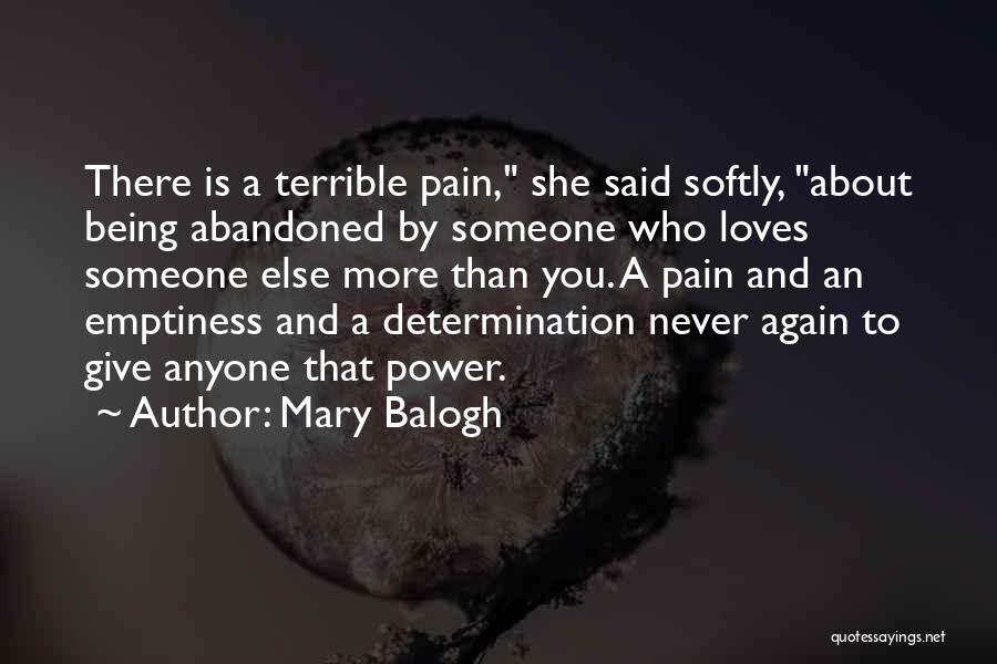 There She Is Quotes By Mary Balogh