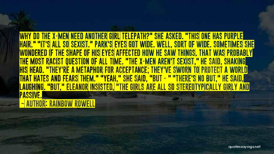 There This Girl Quotes By Rainbow Rowell