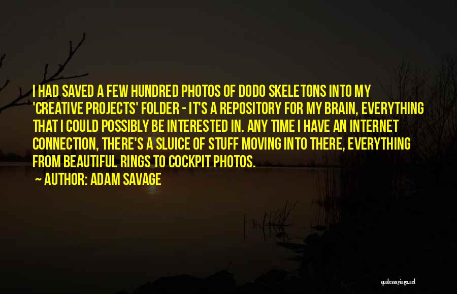 There's A Time For Everything Quotes By Adam Savage