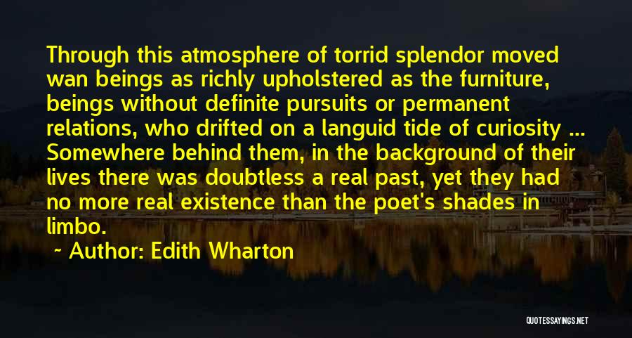 There's No Permanent Quotes By Edith Wharton