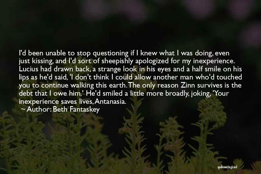 There's No Reason To Look Back Quotes By Beth Fantaskey