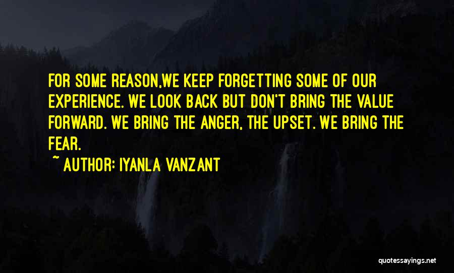 There's No Reason To Look Back Quotes By Iyanla Vanzant