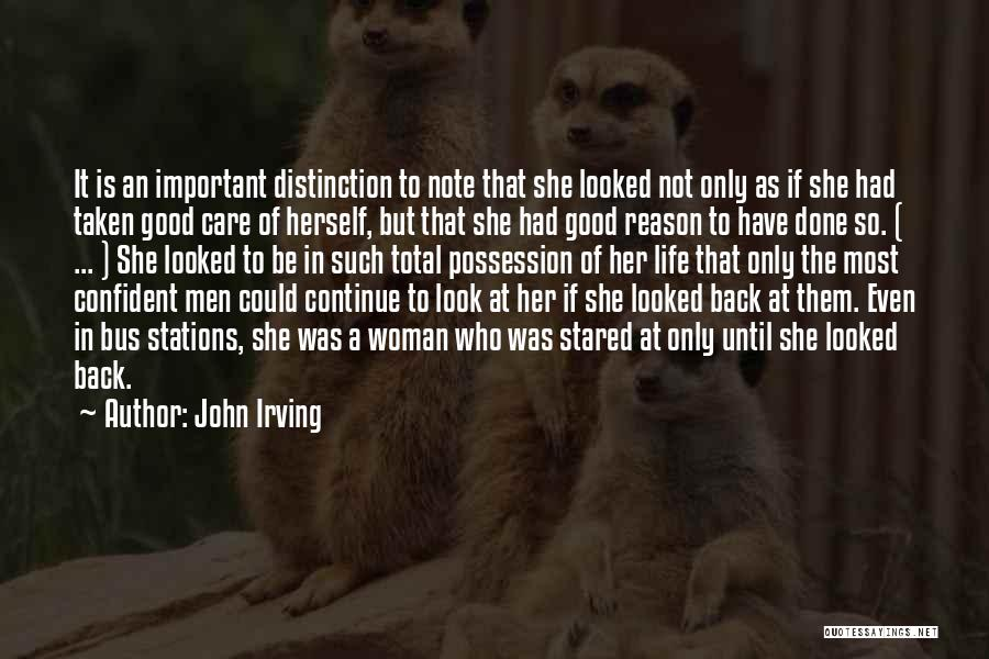 There's No Reason To Look Back Quotes By John Irving