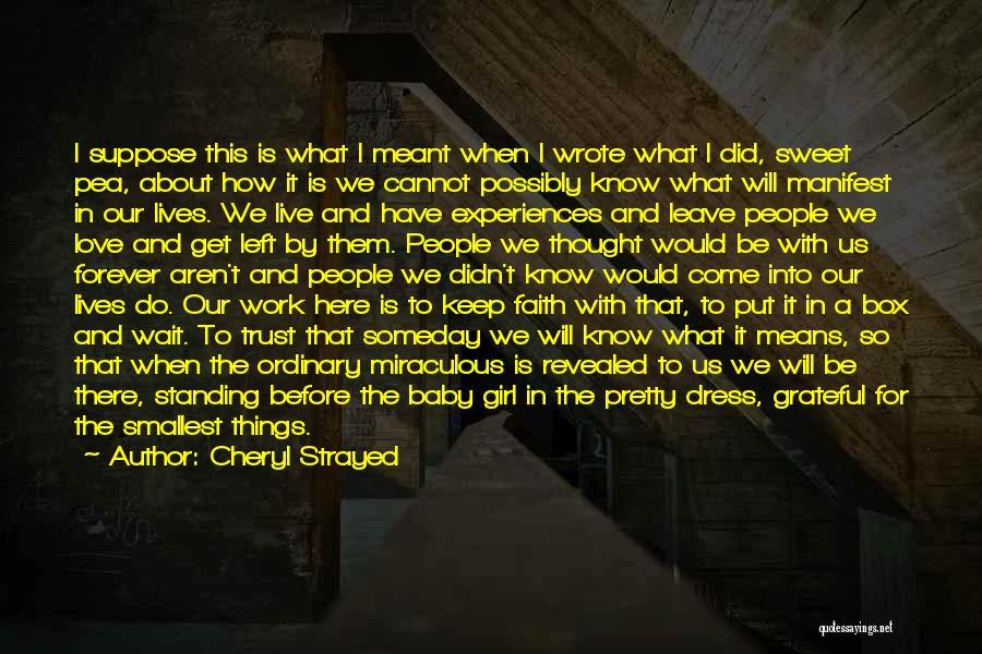 There's This Girl I Love Quotes By Cheryl Strayed