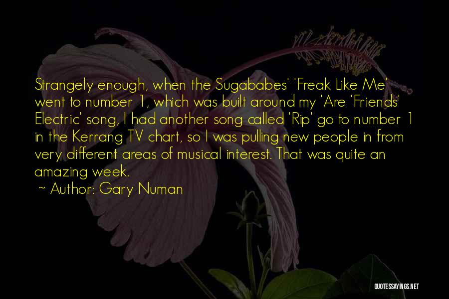 These So Called Friends Quotes By Gary Numan