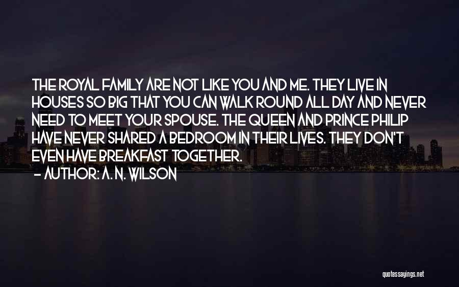 They Don't Need You Quotes By A. N. Wilson