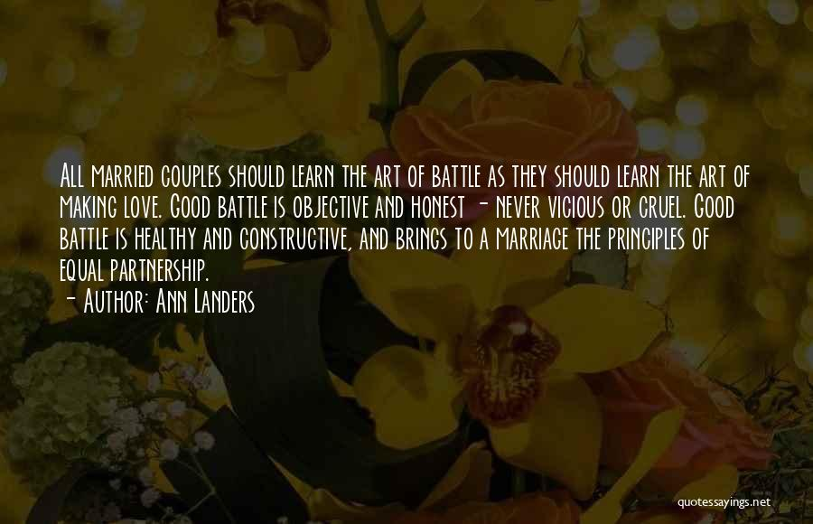 They Never Learn Quotes By Ann Landers