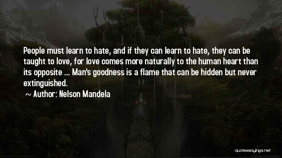 They Never Learn Quotes By Nelson Mandela