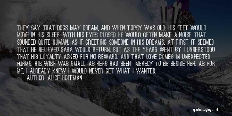 They Say Dreams Quotes By Alice Hoffman