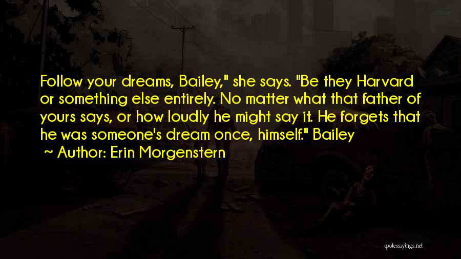 They Say Dreams Quotes By Erin Morgenstern