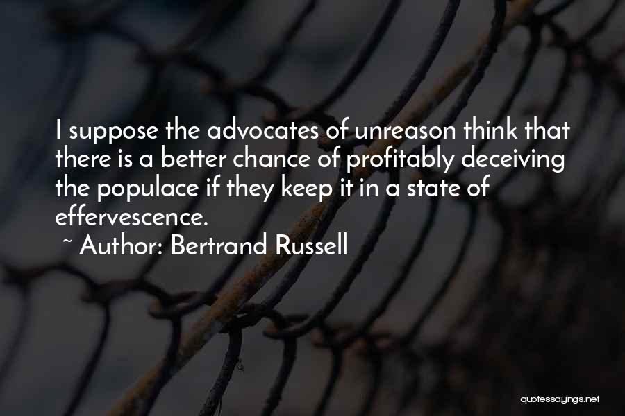 They Think Quotes By Bertrand Russell