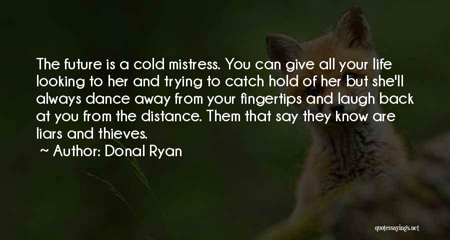 Thieves And Liars Quotes By Donal Ryan