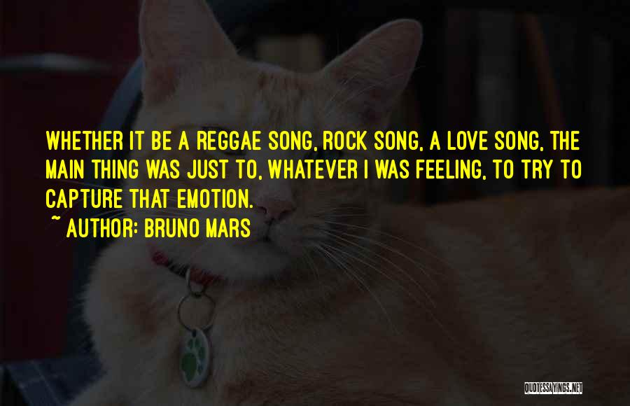 Thing Love Quotes By Bruno Mars