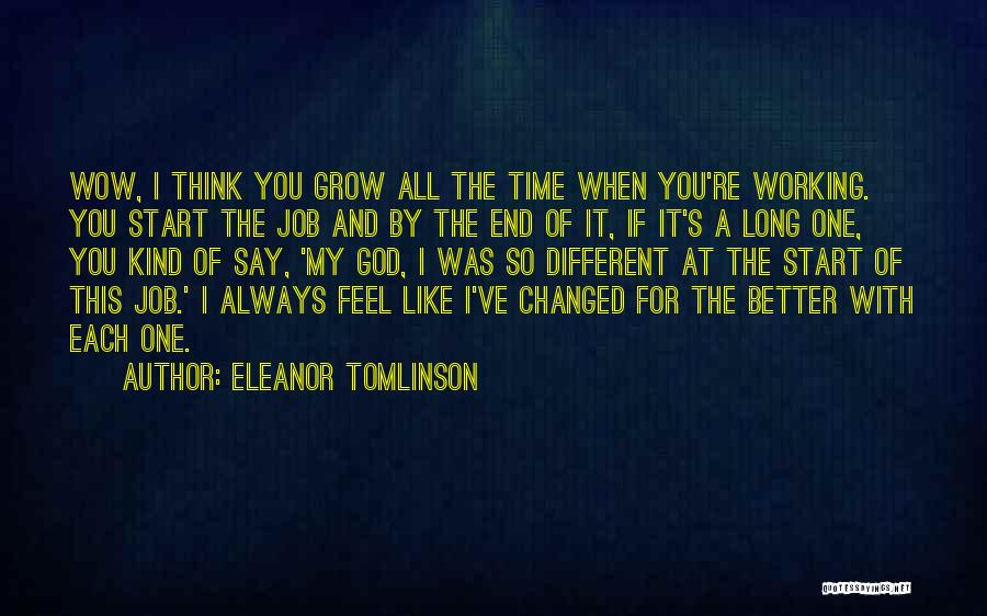 Things Always Working Out In The End Quotes By Eleanor Tomlinson
