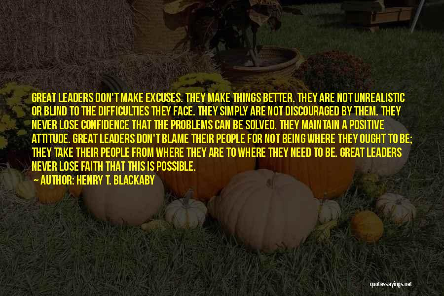 Things Being Possible Quotes By Henry T. Blackaby