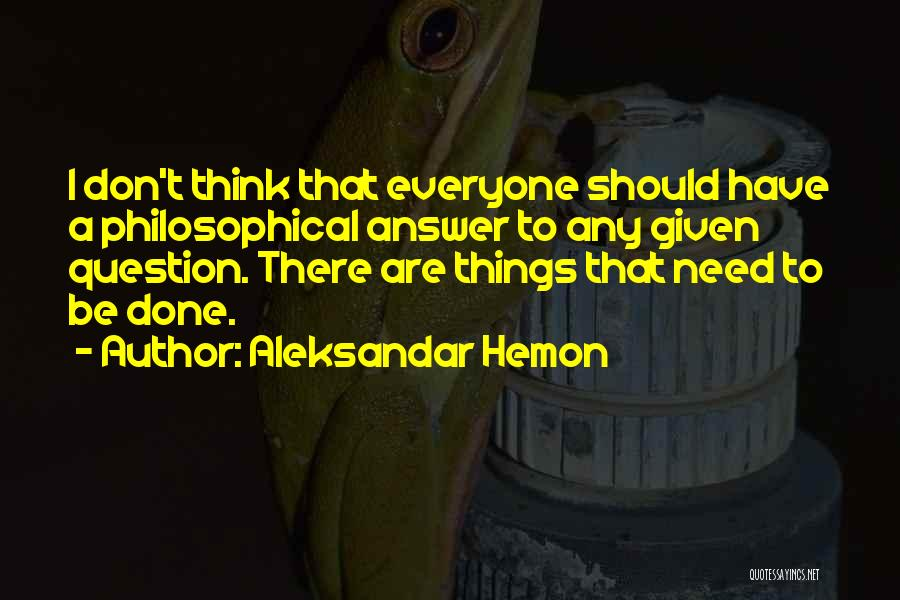 Things I Should Have Done Quotes By Aleksandar Hemon