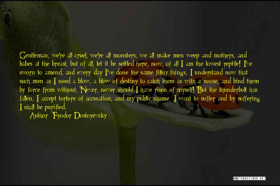 Things I Should Have Done Quotes By Fyodor Dostoyevsky