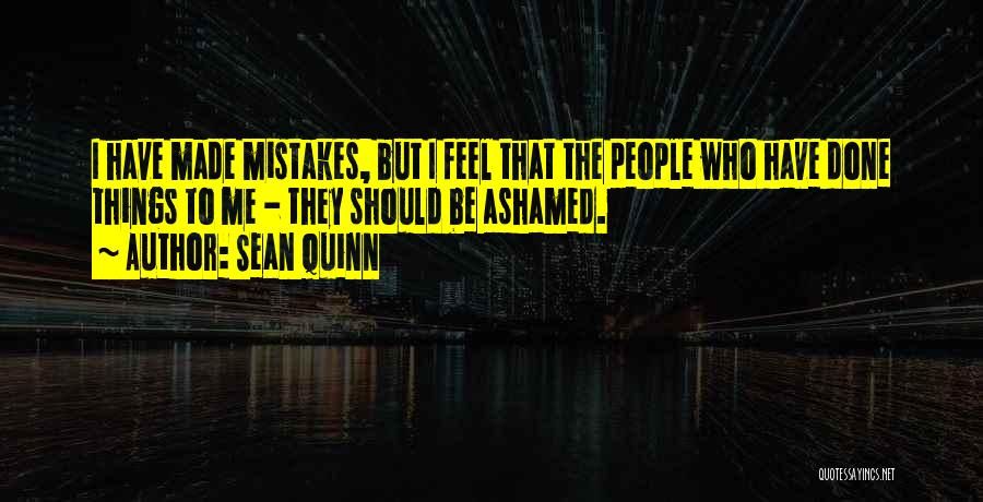 Things I Should Have Done Quotes By Sean Quinn
