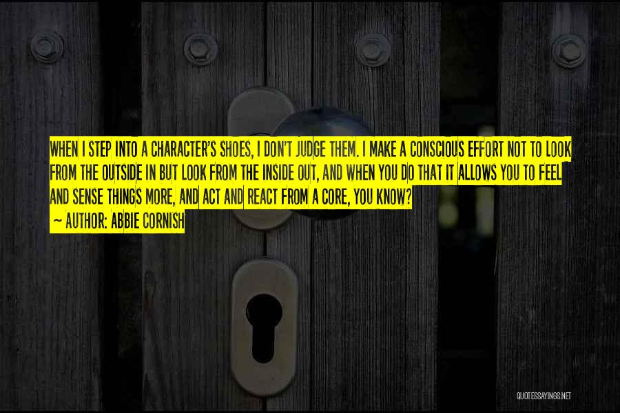 Things Make Sense Quotes By Abbie Cornish
